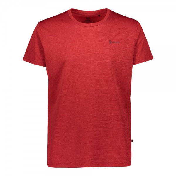 Anar Dahkki Herren T-Shirt rot