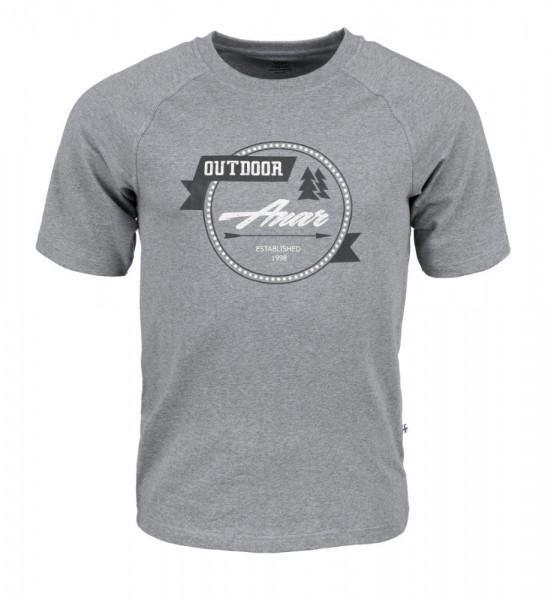 Anar Baidi Herren T-Shirt grau