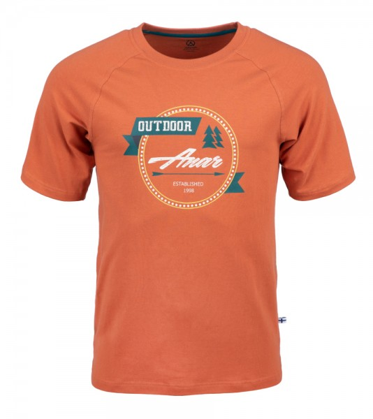 Anar Baidi Herren T-Shirt orange