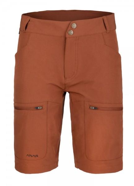 Anar Damen Shorts Gahta orange-braun