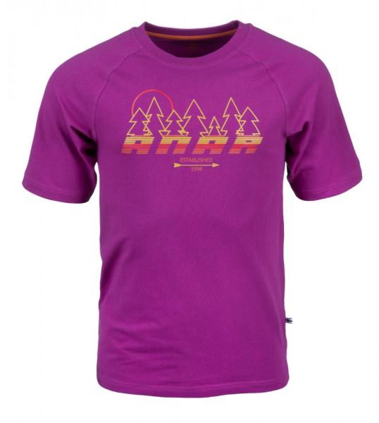 Anar Baidi Herren T-Shirt violett