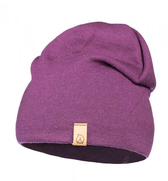 Anar Jussa Light Sommer-Merinowolle-Mütze phlox violett