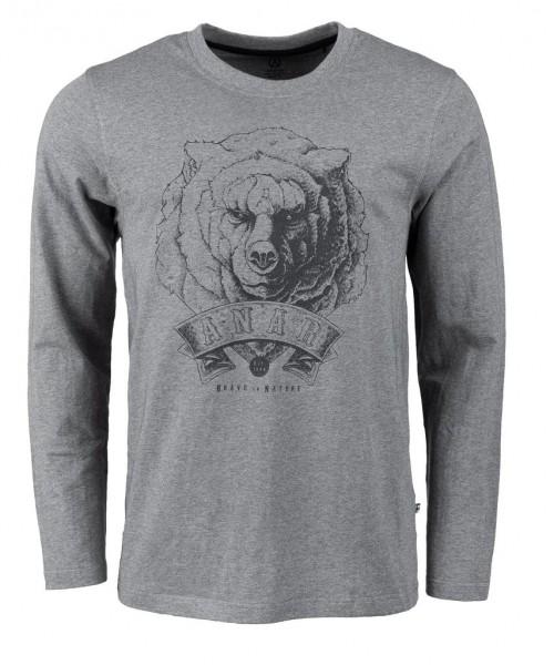 Anar Shirt Bear grau