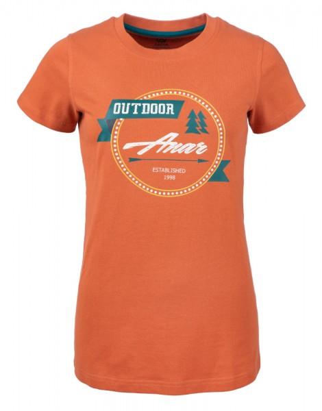 Anar Baidi Damen T-Shirt orange